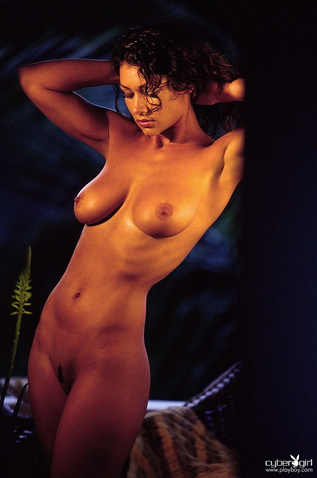 Alicia Burley undressed