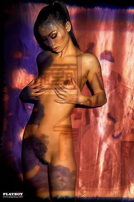 Bai ling playboy nude