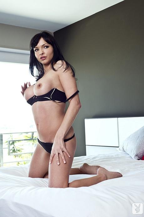 nude Playboy joy glass