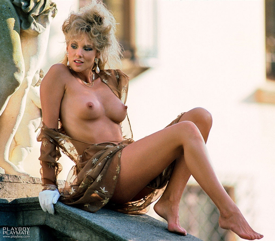 kathy nude Playmate shower