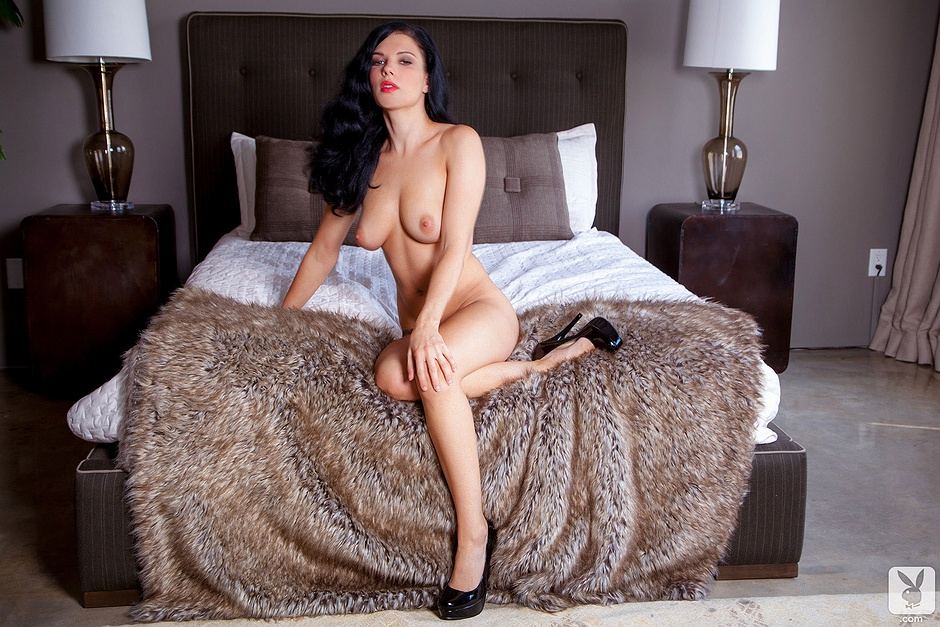 mercedes nude Playboy raquel