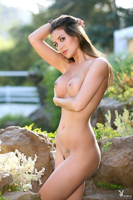 Redhead big tits open shirt