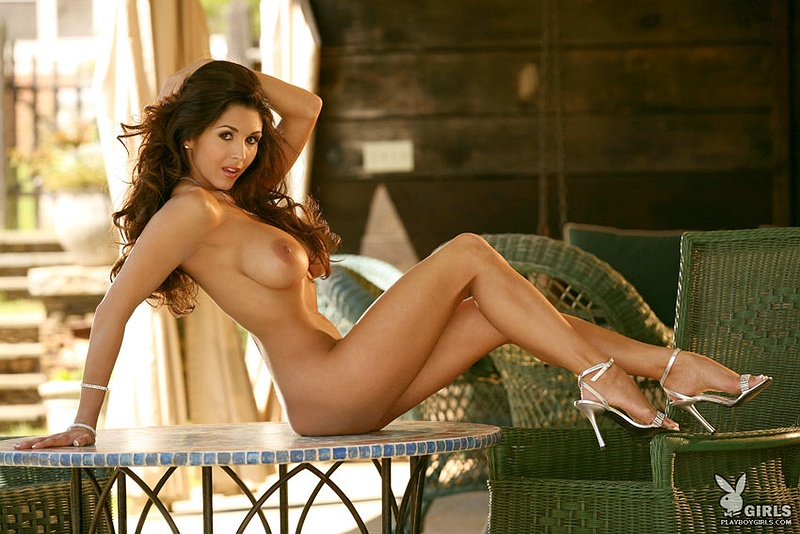 Girl fingering herself on nudist beach